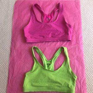 Set of 2 Champion Cotton sports bras